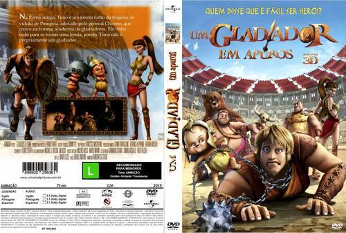 Um Gladiador em Apuros Torrent - BluRay Rip 1080p 3D HSBS Dublado 5.1