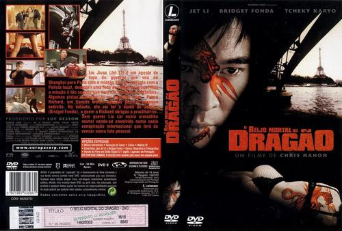 O Beijo do Dragão Torrent - BluRay Rip 1080p Dual Áudio (2001)