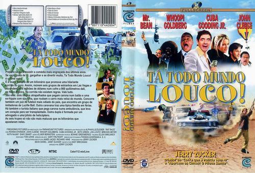 Tá Todo Mundo Louco! Uma Corrida por Milhõe$ Torrent - BluRay Rip 1080p Dual Áudio (2001)