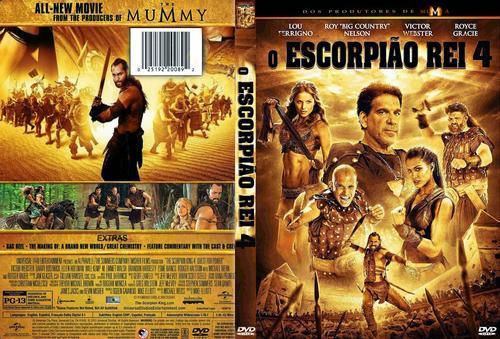 O Escorpião Rei 4 Torrent - BluRay Rip 720p | 1080p Dublado 5.1