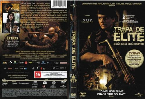 Tropa de Elite Torrent - BluRay Rip 720p Nacional