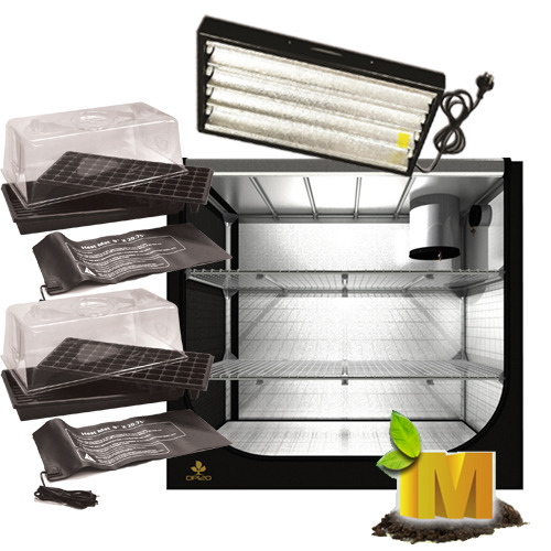 PL 2X55W T5 PROROGATION CLONE SEEDLING HYDROPONIC INDOOR GROW TENT LIGHT