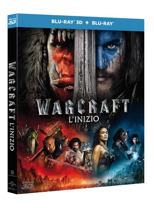 warcraft inizio bd 3d