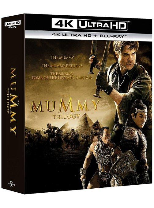 la mummia trilogia 4k