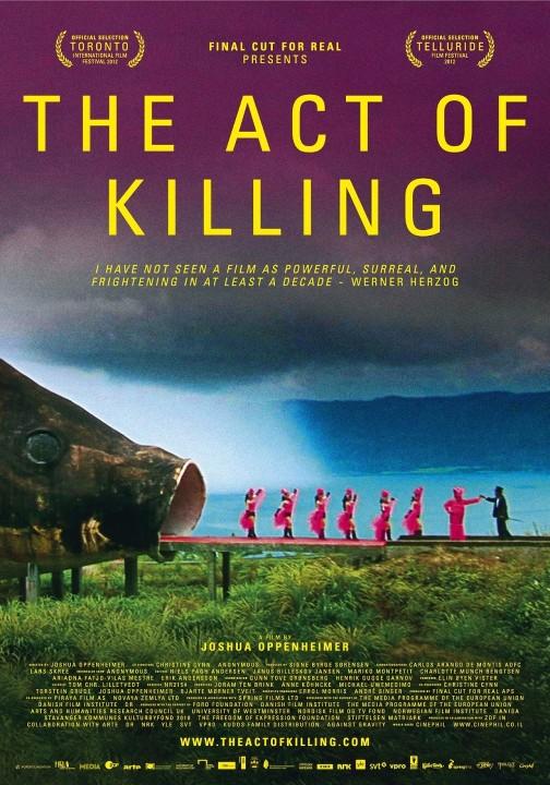 Η πράξη του φόνου (The Act of Killing) Poster