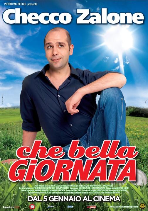 Τι όμορφη μέρα Θεέ μου! (Che bella giornata) Poster
