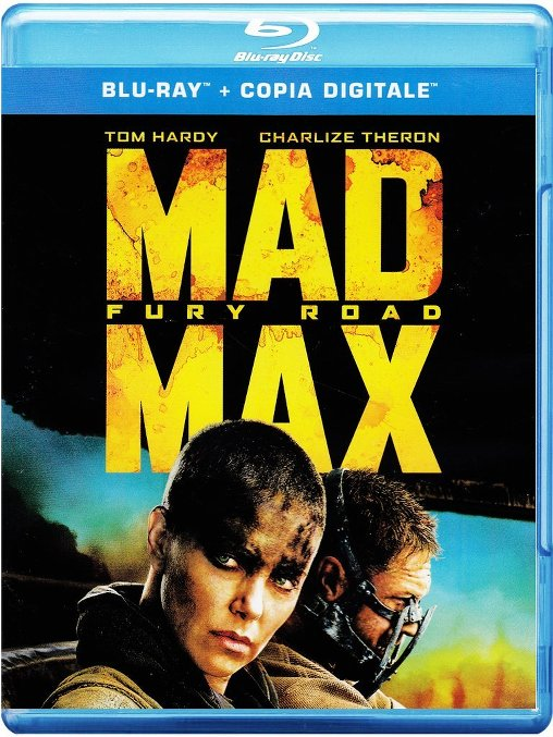 mad max fury road bluray