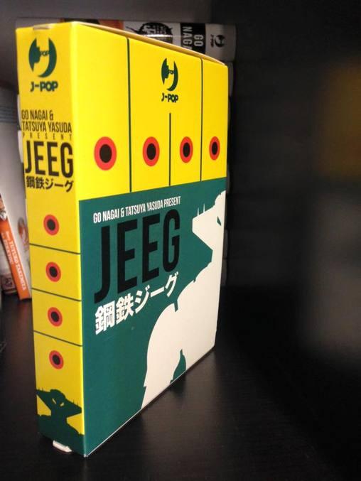 jeeg robot manga box