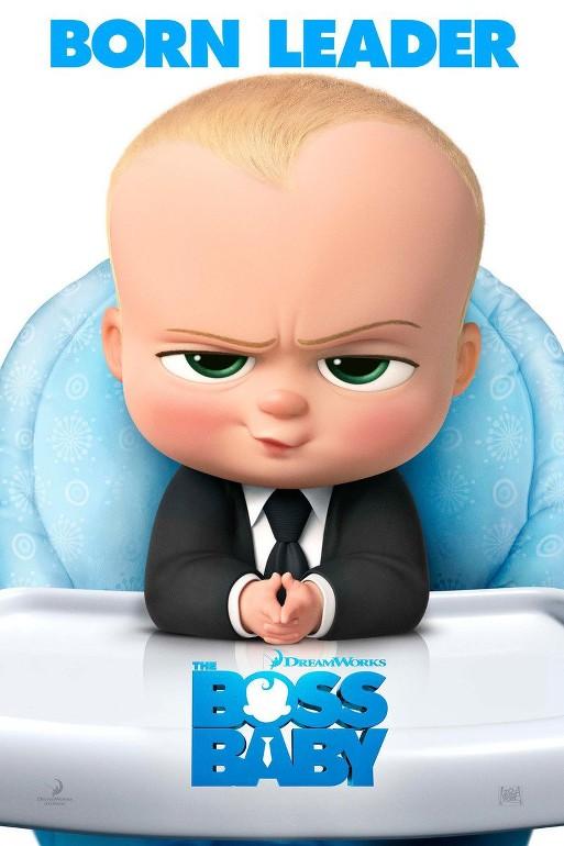 Αρχηγός από Κούνια (The Boss Baby) Poster