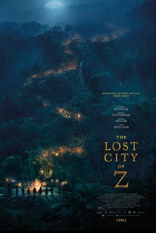 Η χαμένη πόλη του Z (The lost city of Z) Poster