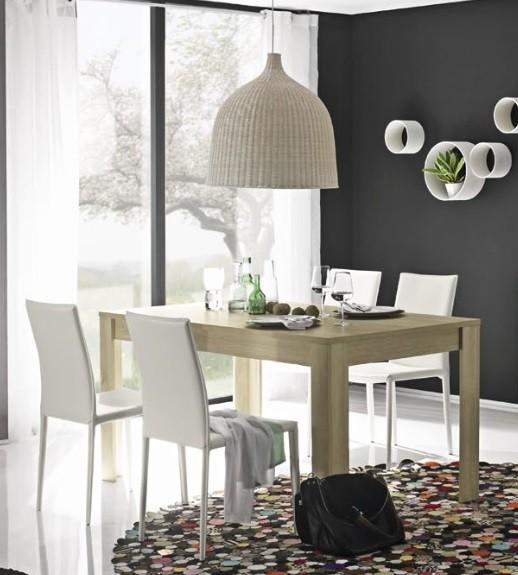 Tavolo moderno Rustica tavolo sala da pranzo cucina moderno rovere 160 x 90 cm