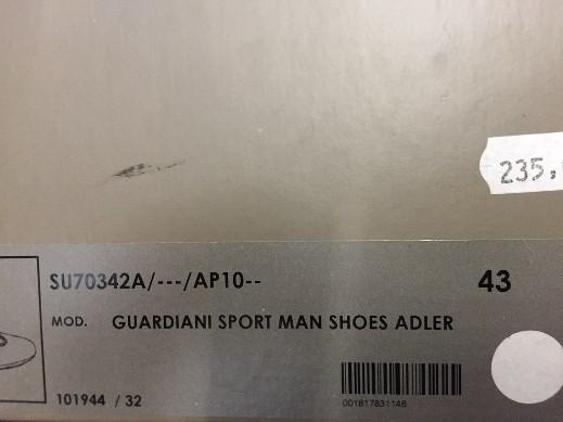 SCARPE CASUAL UOMO ANDREA MORELLI ORIGINAL JE71770 PELLE NAPPA SHOES LEATHER MAN