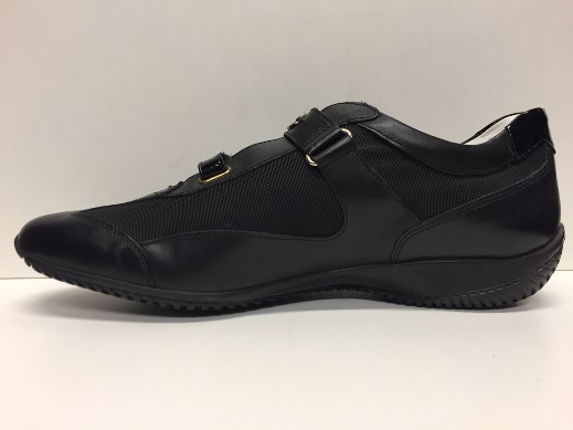 SCARPE CASUAL DONNA GEOX ORIGINAL SALLY D7166M BLACK PELLE SHOES LEATHER A/I NEW