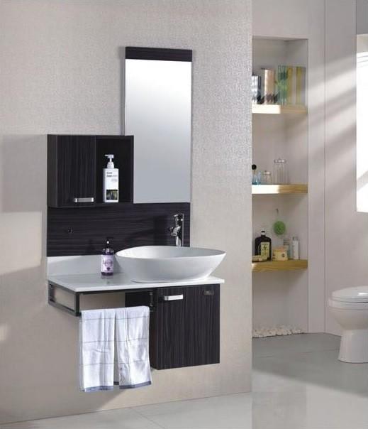 Brando bagno base sospesa cm l80xp45xh52 con specchio - Progetto bagno 4 mq ...