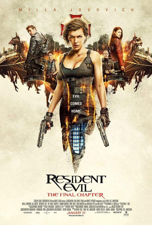 Resident Evil: Το Τελευταίο Κεφάλαιο (Resident Evil: The Final Chapter) Poster