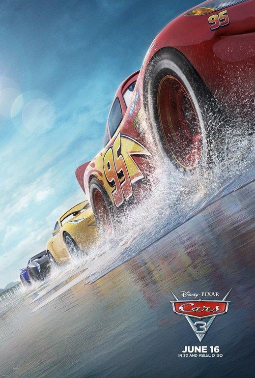Αυτοκίνητα 3 (Cars 3) Poster