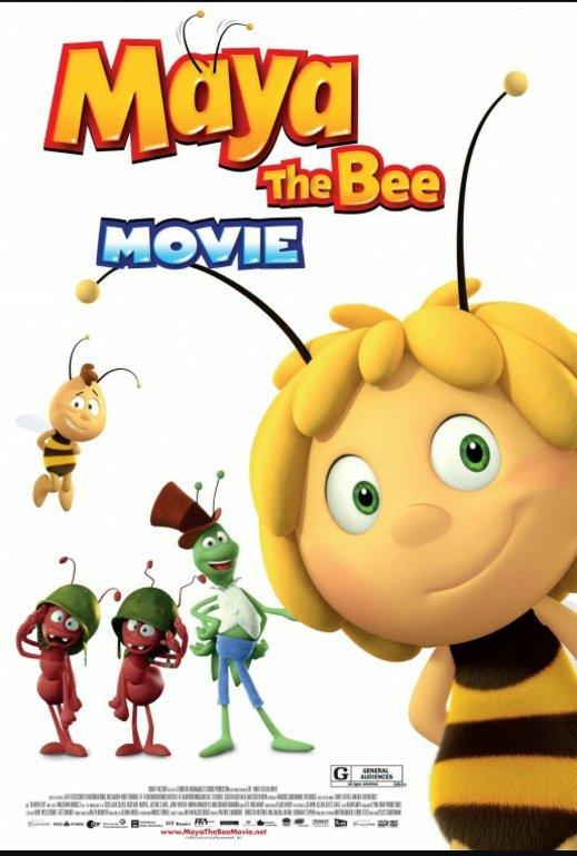 Μάγια η Μέλισσα (Maya the Bee Movie) Poster