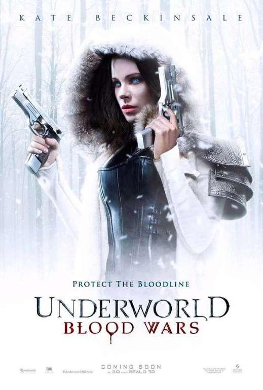 Underworld: Η Αιματοχυσία (Underworld: Blood Wars) Poster