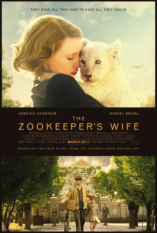 Η γυναίκα του ζωολογικού κήπου (The zookeeper's wife) Poster