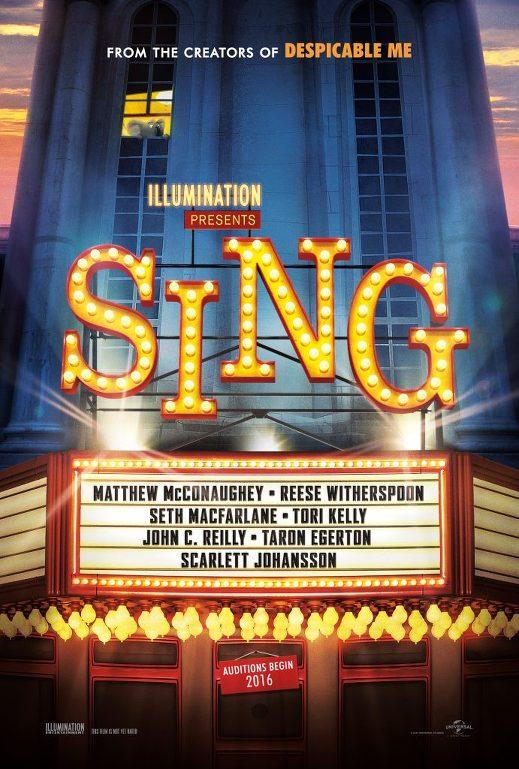 Τραγούδα! (Sing) Poster