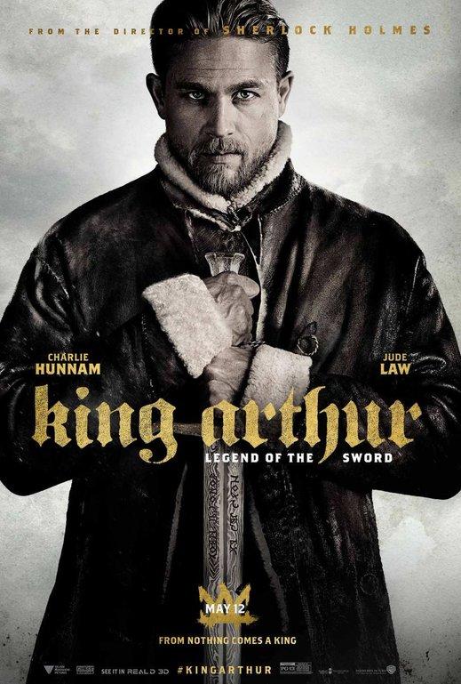 Βασιλιάς Αρθούρος: Ο Θρύλος του Σπαθιού (King Arthur: Legend of the Sword) Poster