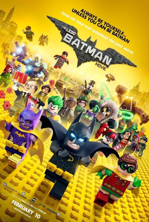 Η Ταινία LEGO Batman (The LEGO Batman Movie) Poster