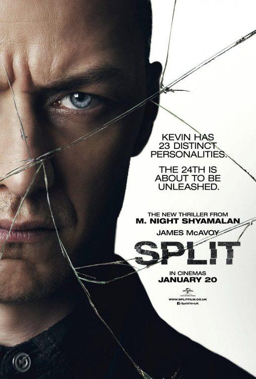 Διχασμένος (Split) Poster