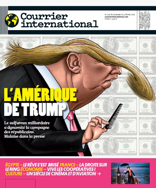 Courrier international 1317 du 28 Janvier au 3 Février 2016