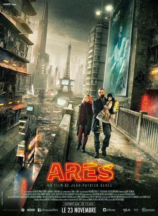 Ares: Κίνδυνος στο Παρίσι (Arès) Poster