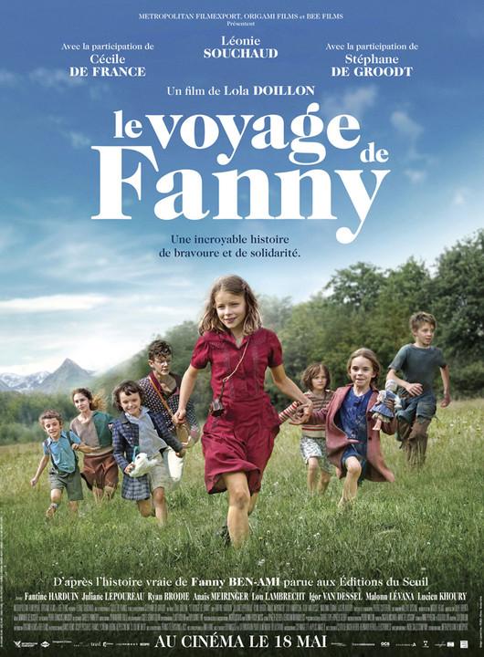 Le voyage de Fanny Το Ταξίδι της Fanny Poster