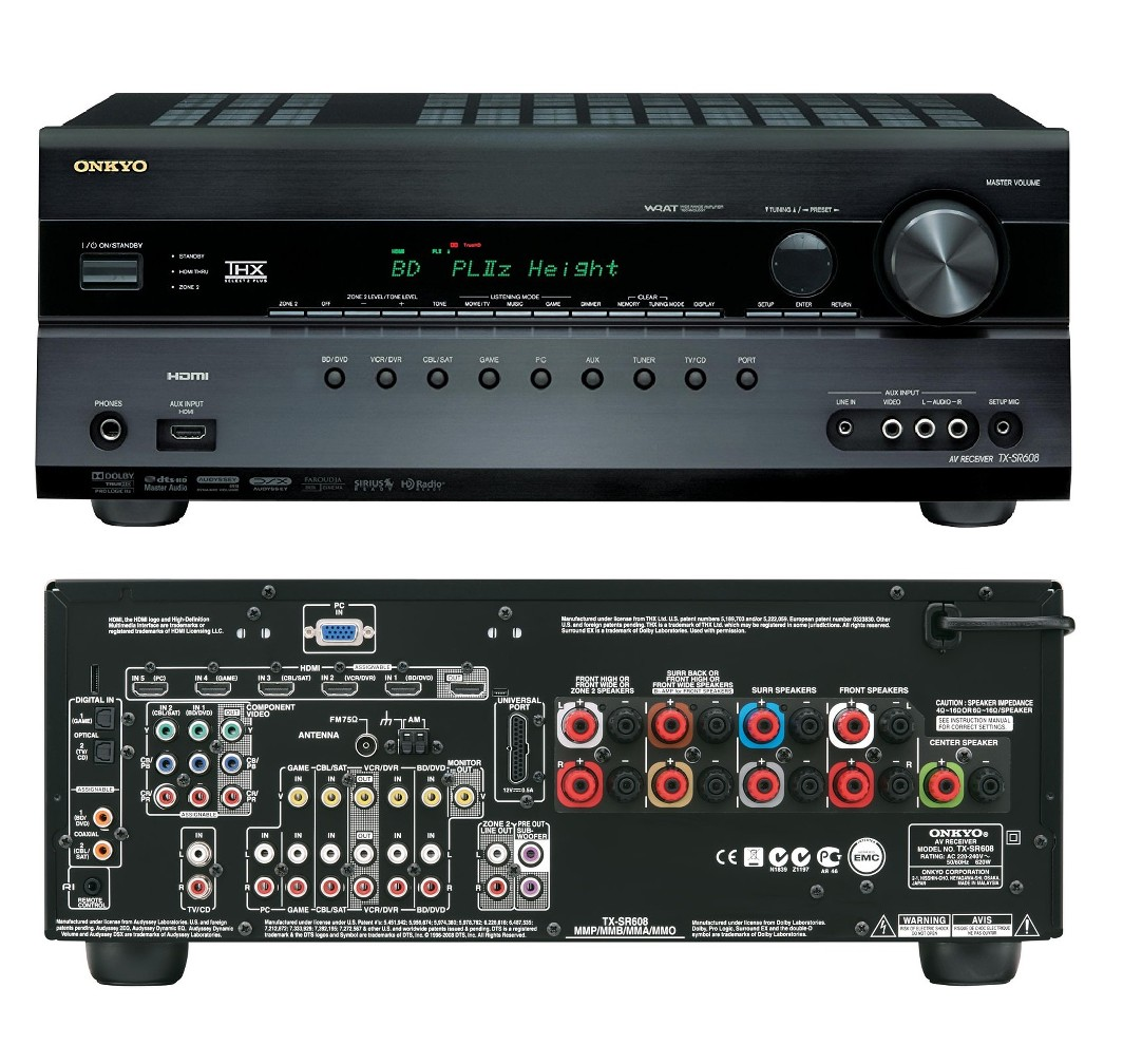 Onkyo Tx Sr608 72 Home Cinema Theatre 3d Av Network Hd Receiver 7x Pin Subwoofer Filter Crossover 11 90 Hz Frequency Circuit On Pinterest Condition Ex Display Product From Major Uk Hifi Fully Working And Excellent Cosmetic