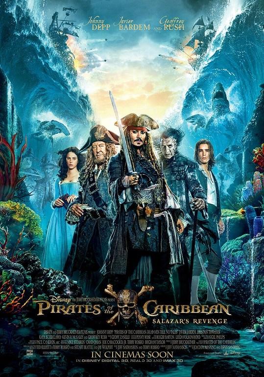 Οι Πειρατές της Καραϊβικής: Η Εκδίκηση του Σαλαζάρ (Pirates of the Caribbean: Dead Men Tell No Tales) Poster