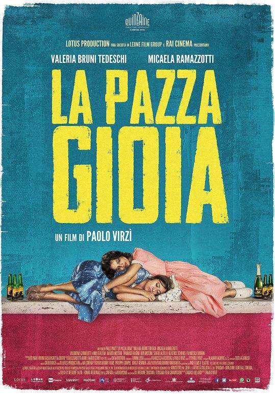 Η Τρελή Χαρά (La Pazza Gioia) Poster