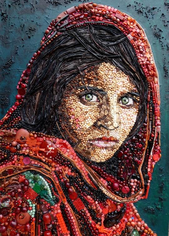 Femme Afghane (Steve McCurry) / Jane Perkins