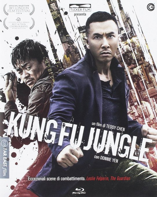 kung fu jungle bluray