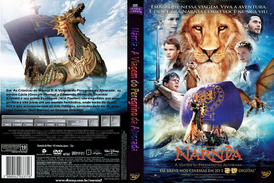 As Crônicas de Nárnia: A Viagem do Peregrino da Alvorada Torrent - BluRay 1080p Dublado (2010)