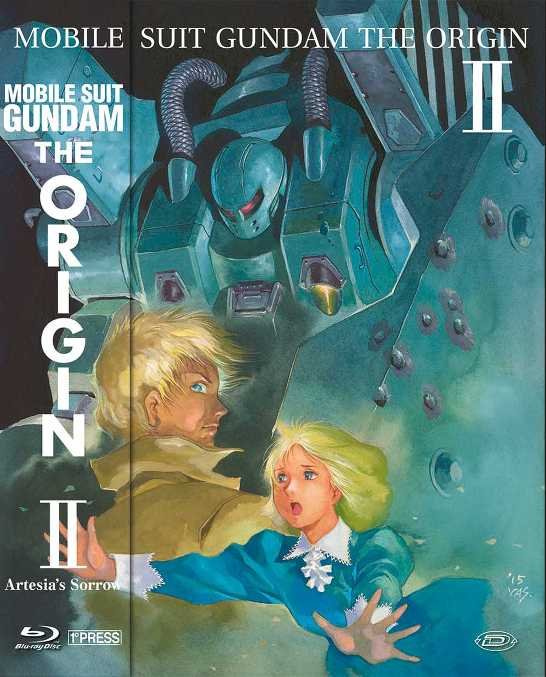 gundam the origin 2 blu-ray