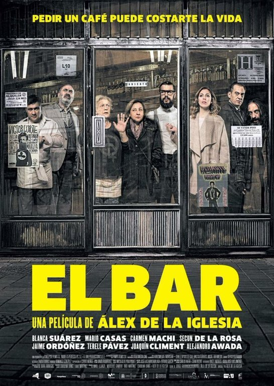 Το μπαρ (El bar) Poster