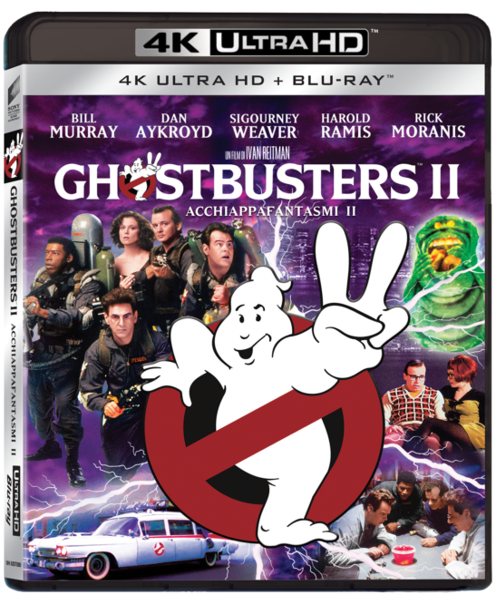 ghostbusters 2 bluray 4k