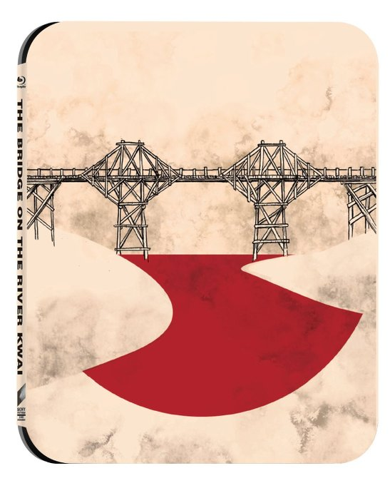 il ponte sul fiumw kwai steelbook