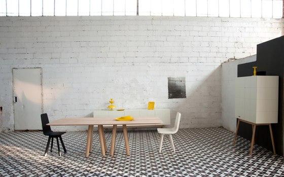 Credenza Moderna Design : Credenza moderna madia di design ante e cassetti bianco