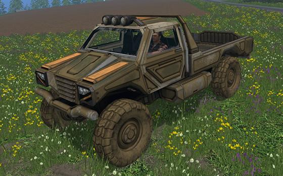Gekko Utility Vehicle, brand new mod for FS15! - GIANTS