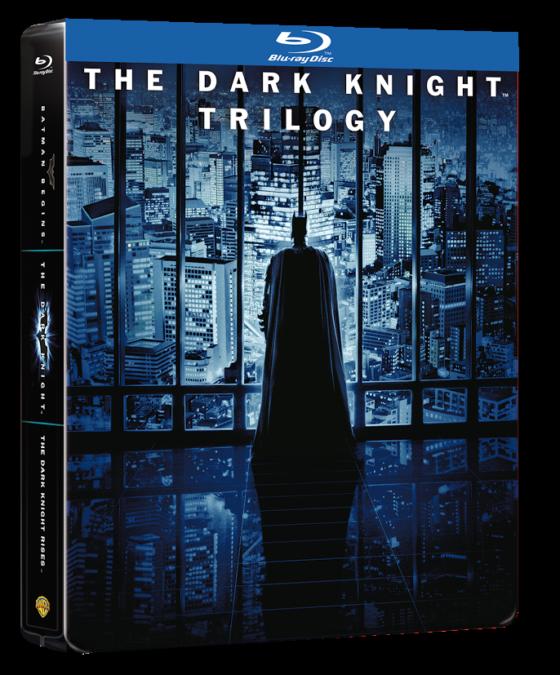 batman cavaliere oscuro trilogia steelbook