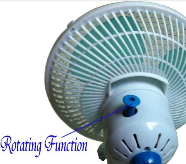 180mm Oscillating Clamp Clip Fan Home Ventilation