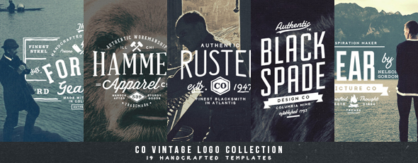 27 Vintage Badges Bundle Volume 1