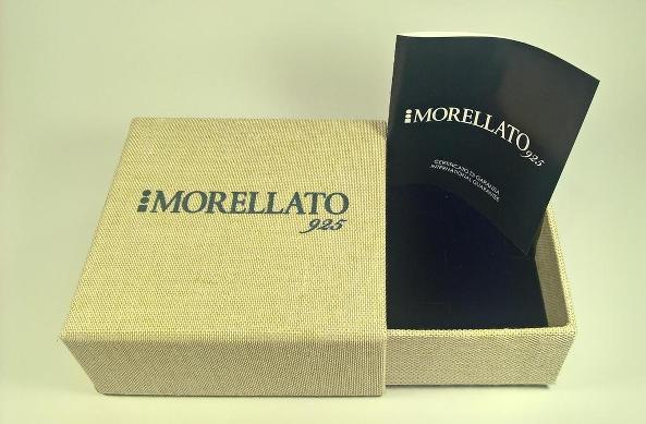 ORECCHINI ARGENTO MORELLATO ORIGINAL EARRING SILVER SWAROVSKY X LOBI GIOIELLI NV