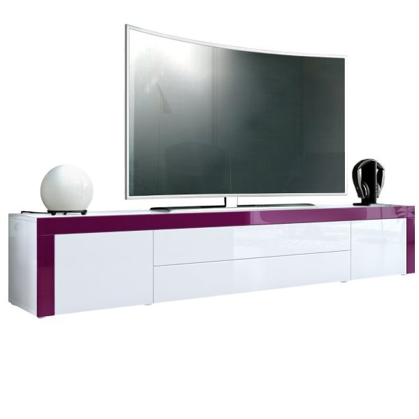 umago mobile porta tv soggiorno sala hi fi dvd blu ray lunghezza cm 200. Black Bedroom Furniture Sets. Home Design Ideas