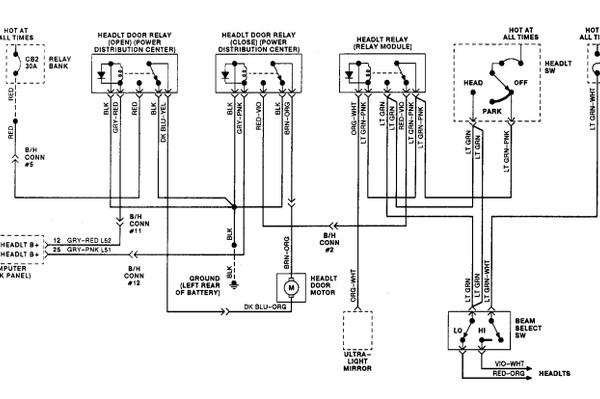 1993 chrysler newyorker headlamp wiring diagramScannerDanner Forum