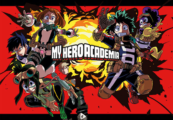 Mini poster interno MY HERO ACADEMIA n.1 Limited Edition