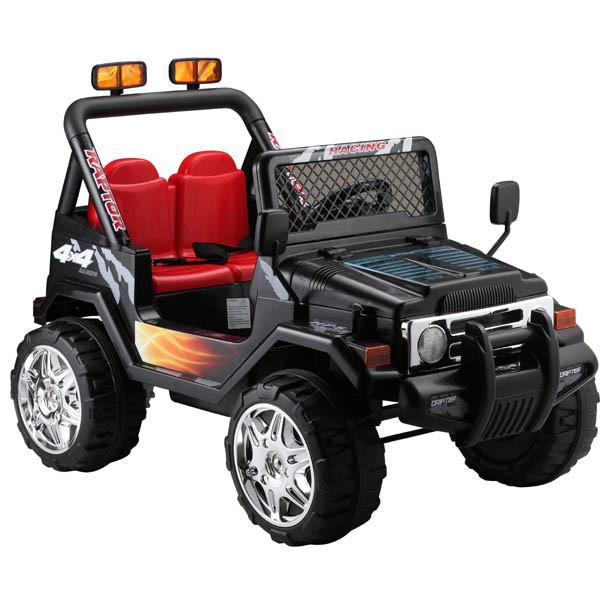 jeep raptor elektroauto f r kinder elektro kinderauto. Black Bedroom Furniture Sets. Home Design Ideas